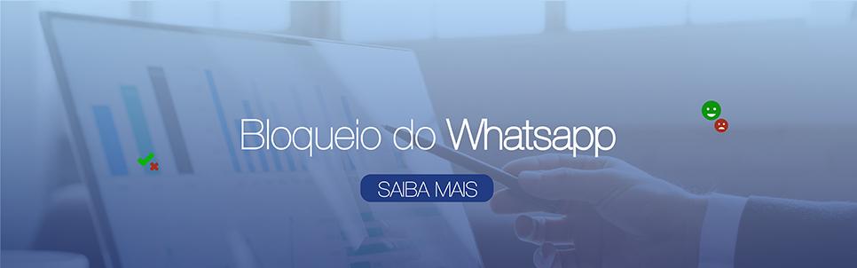 Pesquisa Bloqueio do Whatsapp